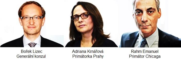 Borek Lizec Adriana Krnacova Rahm Emanuel